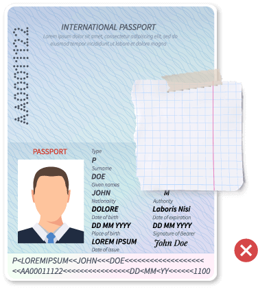 Passport document